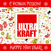 ULTRAKRAFT ZAO congratulates all on the Merry Christmas and Happy New Year 2016!